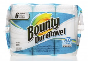 Bounty DuraTowel 6 big rolls package