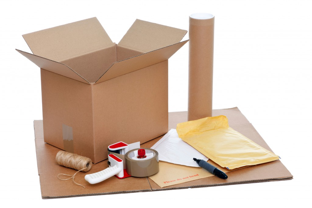 Packing items
